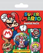 Super Mario Odznáčky - 5 kusů