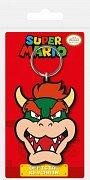 Super Mario Rubber Keychain Bowser 6 cm