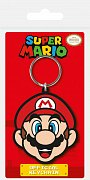 Super Mario Rubber Keychain Mario 6 cm