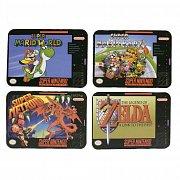 Super Nintendo Coaster 4-Pack