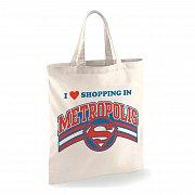 Superman Tote Bag Shopping in Metropolis