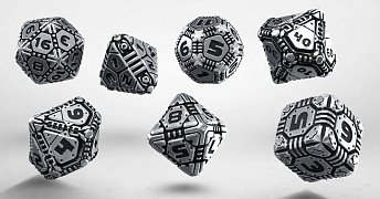 Tech Metal Dice Set (7)