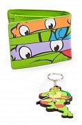 Teenage Mutant Želvy ninja Dárkový set Peněženka & Klíčenka Raph