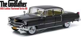 The Godfather Diecast Model 1/18 1955 Cadillac Fleetwood Series 60 Special