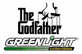 The Godfather Diecast Model 1/43 1941 Lincoln Continental (Bullet Whole Damage)