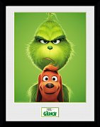 The Grinch (2018) Framed Poster Grinch & Max 45 x 34 cm