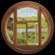 The Hobbit Giant Vinyl Wall Decal Hobbit Window