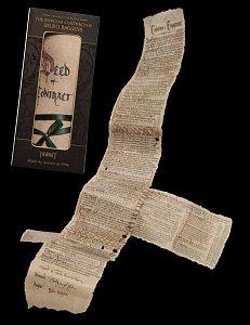 The Hobbit Mini Replica The Burglar Contract of Bilbo Baggins --- DAMAGED PACKAGING - 1