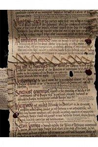 The Hobbit Mini Replica The Burglar Contract of Bilbo Baggins --- DAMAGED PACKAGING - 2