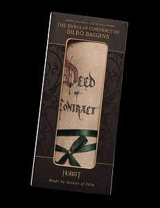 The Hobbit Mini Replica The Burglar Contract of Bilbo Baggins --- DAMAGED PACKAGING - 3