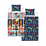 The Incredibles 2 Duvet Set Reversible Retro 135 x 200 cm / 48 x 74 cm