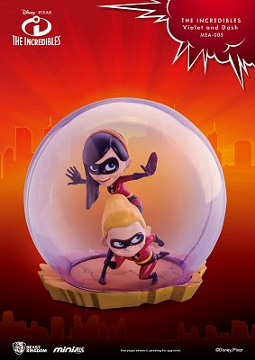 The Incredibles Mini Egg Attack Figure Violet & Dash 8 cm --- DAMAGED PACKAGING