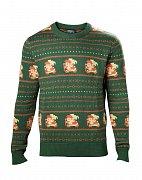 The Legend of Zelda Sweater Link Christmas green