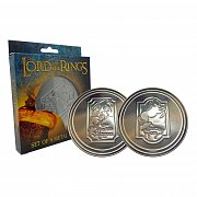 The Lord of the Rings Coaster 4-Pack Green Dragon
