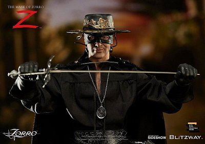 The Mask of Zorro Action Figure 1/6 Zorro (Antonio Banderas) 29 cm
