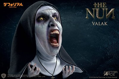 The Nun Defo-Real Series Soft Vinyl Figure Valak 2 (Open mouth) 15 cm