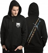 The Witcher Hooded Sweater Steel N Silver