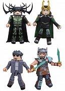 Thor Ragnarok Minimates Action Figures 5 cm Box Set