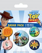 Toy Story 4 Pin Badges 5-Pack Friends for Life