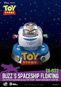 Toy Story Egg Attack Floating Model with Light Up Function Buzz\' Spaceship 13 cm