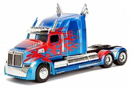 Transformers The Last Knight Diecast Model 1/24 Optimus Prime Western Star 5700 XE Phantom