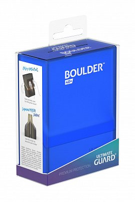 Ultimate Guard Boulder™ Deck Case 40+ Standard Size Sapphire