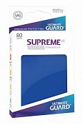 Ultimate Guard Supreme UX Sleeves Standard Size Blue (80)