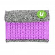 Upixel Felt Pixel Mini Wallet Purple