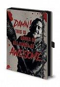 Walking Dead Premium Notebook A5 Negan & Lucille