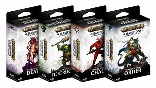 Warhammer Age of Sigmar: Champions Wave 1 Campaign Decks Assortment (8) german