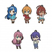 We Never Learn: BOKUBEN Nendoroid Plus PVC Keychain 5-Pack Vol. 1 6 cm