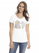 Winnie the Pooh Ladies T-Shirt Back To Bed