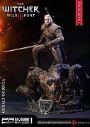 Witcher 3 Wild Hunt Statue Geralt of Rivia Exclusive 66 cm
