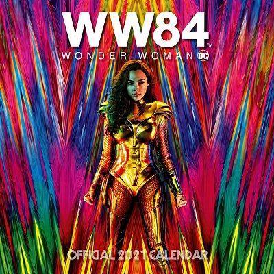 Wonder Woman 1984 Calendar 2021 *English Version*