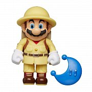 World of Nintendo Action Figure Wave 15 Odyssey Explorer Mario with Moon 10 cm