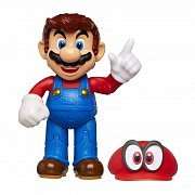 World of Nintendo Action Figure Wave 15 Odyssey Mario with Cappy 10 cm