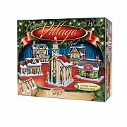 Wrebbit Panel Collection 3D Puzzle Christmas Village