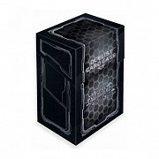 Yu-Gi-Oh! Card Case Dark Hex Black + Silver