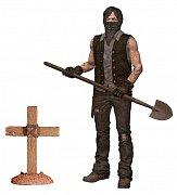 Živí mrtví Akční figurka Serie 9 Grave Digger Daryl Dixon