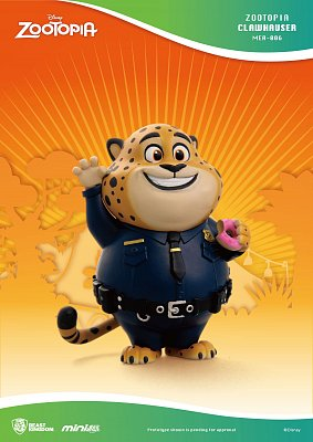 Zootopia Mini Egg Attack Figure Clawhauser 9 cm